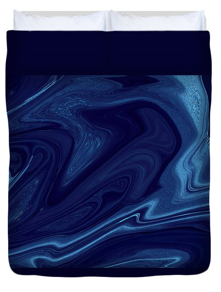 Electric Blue Duvet Cover