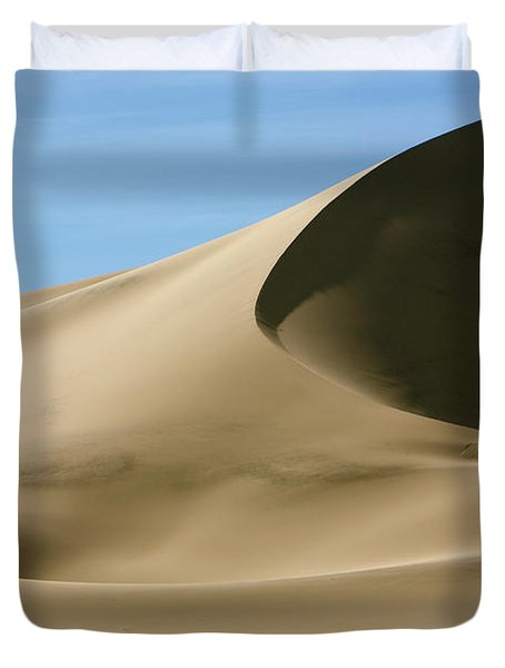 Eureka Dunes Death Valley Natl Park Duvet Cover