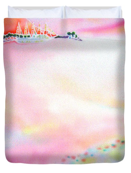 Evening Cruise Duvet Cover