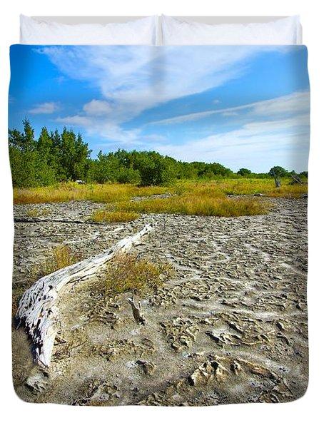 Everglades Coastal Prairies Duvet Cover