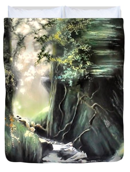 Fairy Glen Duvet Cover
