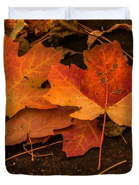 West Fork Fallen Leaves Duvet Cover