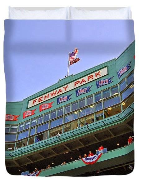 Fenway's 100th Duvet Cover