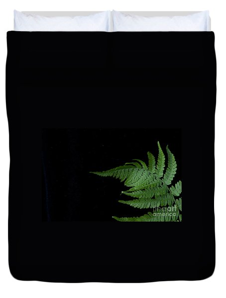 Duvet Cover featuring the photograph Fern II by Alana Ranney