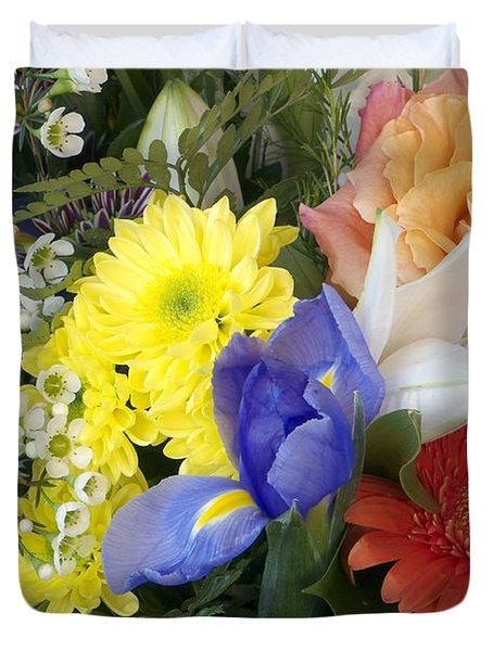Floral Bouquet 4 Duvet Cover