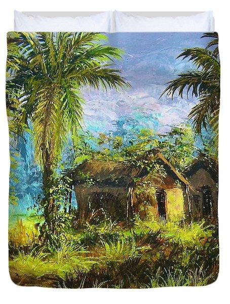 Forest House Duvet Cover