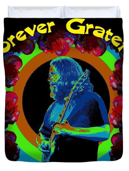 Forever Grateful Duvet Cover