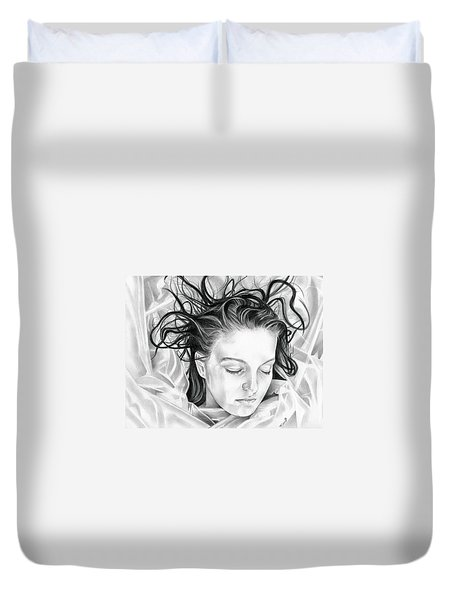 Forget Me Not - Laura Palmer - Twin Peaks Duvet Cover