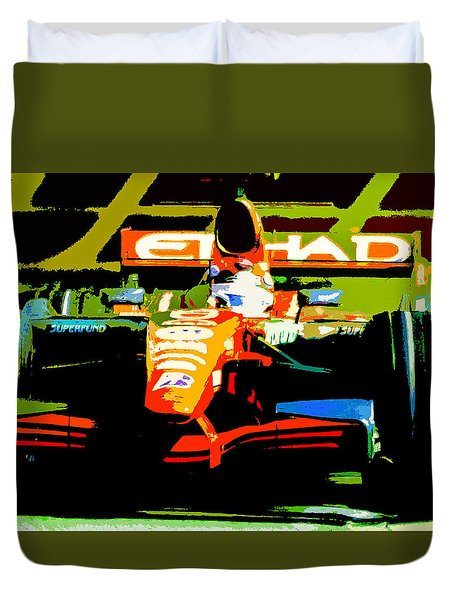 Formula One Duvet Cover