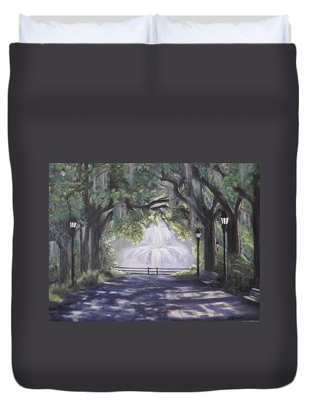 Forsythe Park Duvet Cover