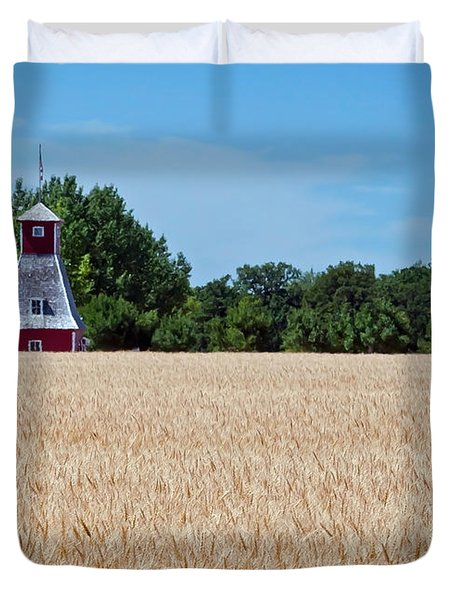 Duvet Cover featuring the photograph Fox Tower by Keith Armstrong