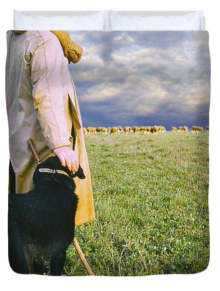 French Shepherd Duvet Cover