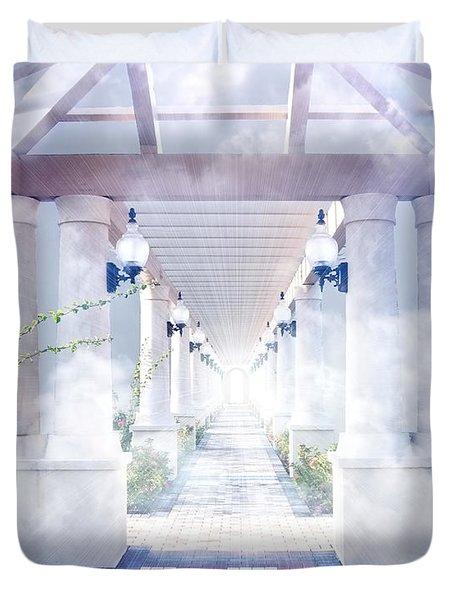 Gateway To Heaven Duvet Cover