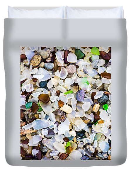 Glass Beach Duvet Cover