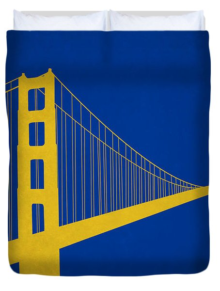 Golden State Warriors Duvet Cover
