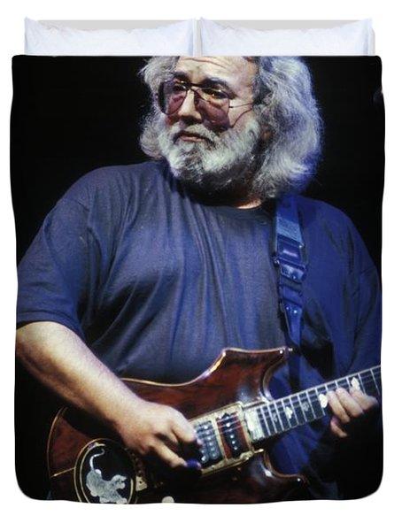 Grateful Dead - Jerry Garcia Duvet Cover