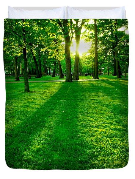 Green Park Duvet Cover