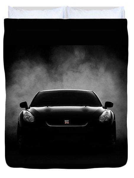 GTR Duvet Cover by Douglas Pittman