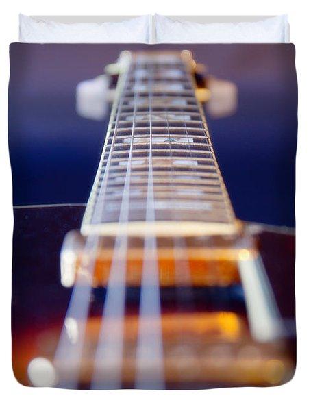 Guitar Duvet Cover by Stelios Kleanthous