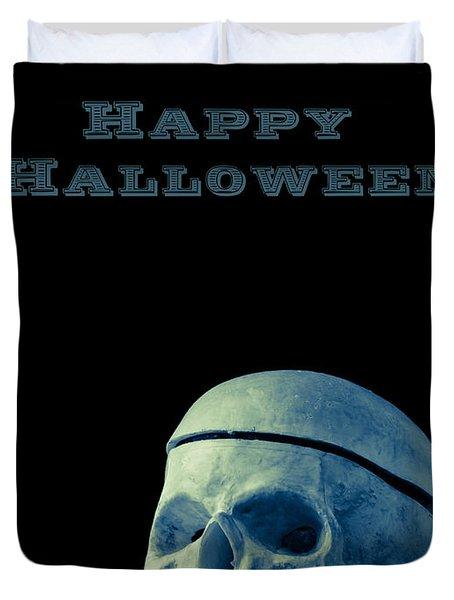 Happy Halloween Card 2 Duvet Cover