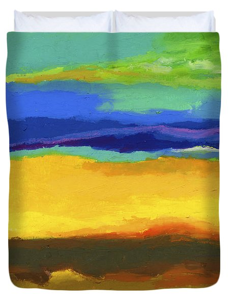 Horizons Duvet Cover by Stephen Anderson