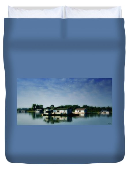 Horseshoe Pond Duvet Cover