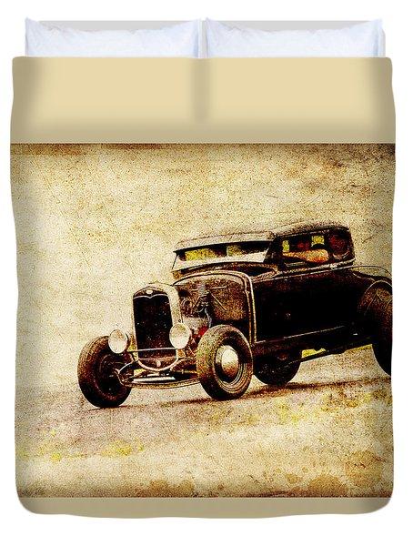 Hot Rod Ford Duvet Cover