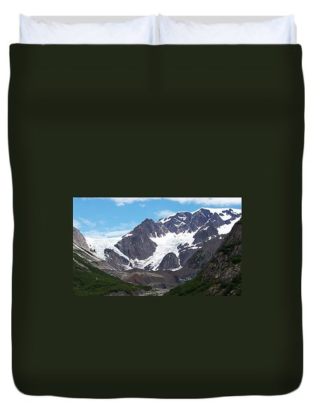 Duvet Cover featuring the photograph Ice And Snow by Aimee L Maher Photography and Art Visit ALMGallerydotcom