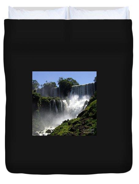 Iguassu Falls Duvet Cover