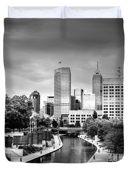 Indianapolis Duvet Cover by Alexey Stiop