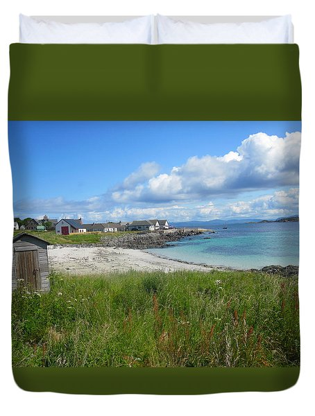 Iona Beach Duvet Cover