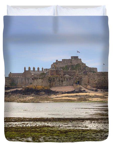 Jersey - Elizabeth Castle Duvet Cover by Joana Kruse