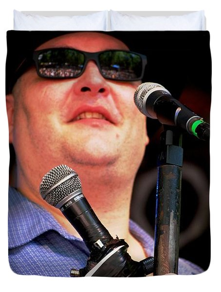 John Popper Duvet Cover