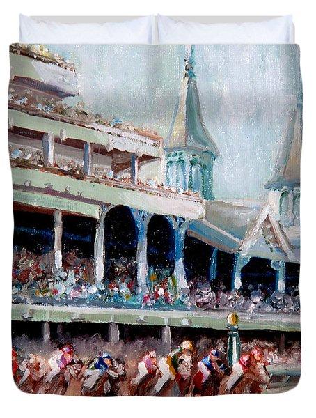 Kentucky Derby Duvet Cover