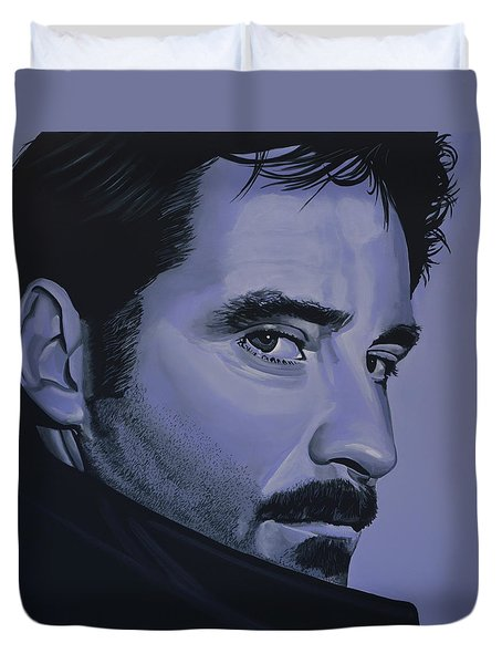 Kevin Kline Duvet Cover by Paul Meijering