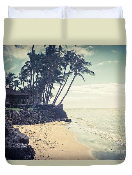 Duvet Cover featuring the photograph Kihei Maui Hawaii by Sharon Mau