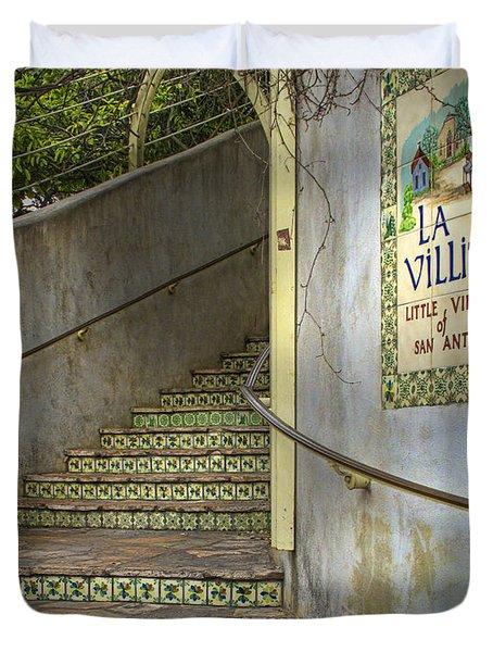 La Villita  Duvet Cover by David and Carol Kelly