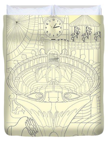 Laicepse Rodatam  Duvet Cover by Jason Secor