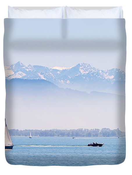 Lake Of Constance Duvet Cover