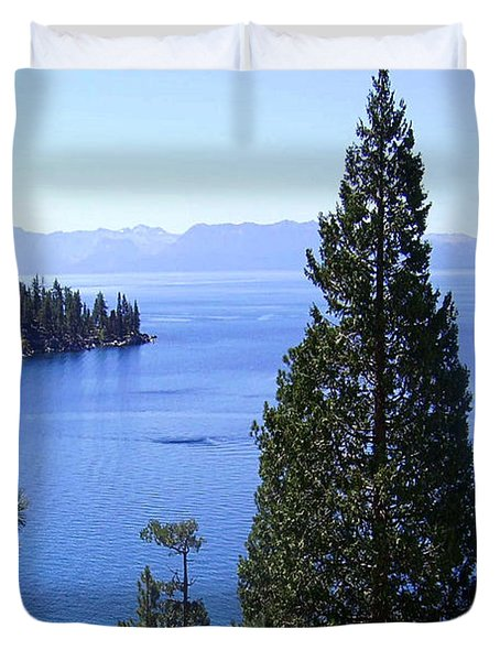 Lake Tahoe 4 Duvet Cover by J D Owen