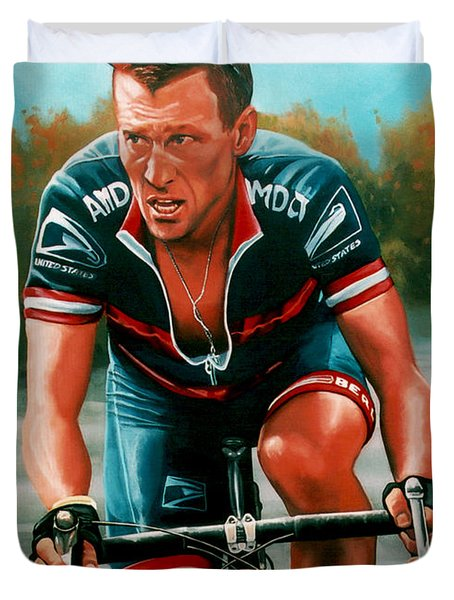 Lance Armstrong Duvet Cover