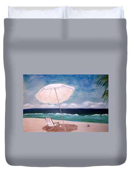 Lazy Day Duvet Cover by Jamie Frier