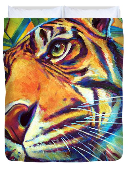 Le Tigre Duvet Cover