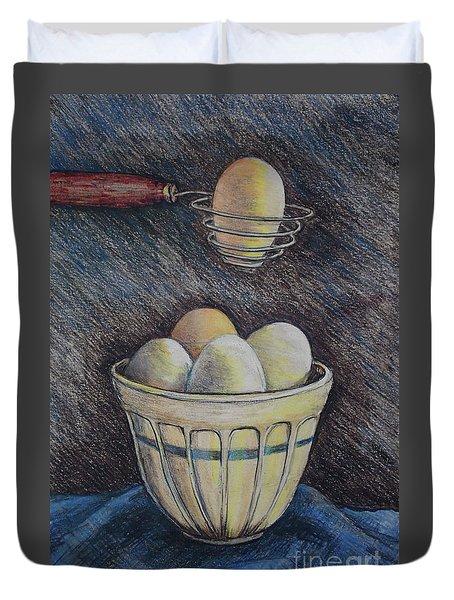 Lets Cook Duvet Cover by Linda Simon