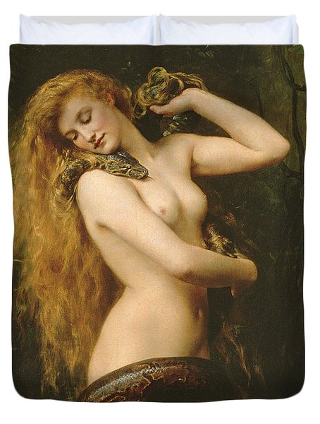 Lilith Duvet Cover by John Collier