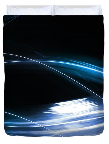 Lines Duvet Cover by Les Cunliffe