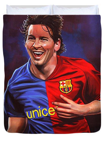 Lionel Messi  Duvet Cover