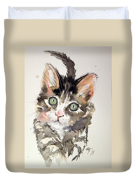 Little Cat Duvet Cover