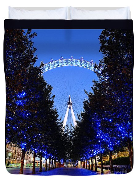 London Eye 3 Duvet Cover