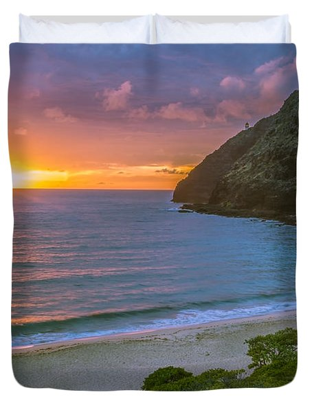 Makapuu Sunrise 1 Duvet Cover